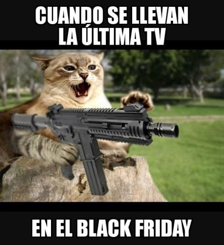 Black Friday memes de animales IV