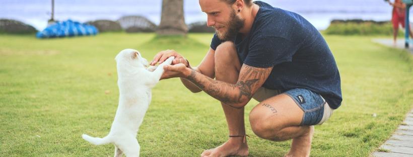 Tatuaje ladrido perro