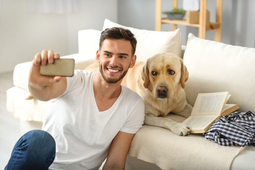selfie con tu mascota