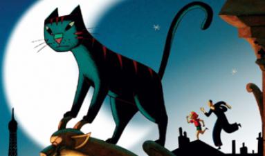 Peliculas de animales, peliculas de gatos. Un gato en parís